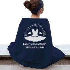 Custom Dance Blanket For Schools