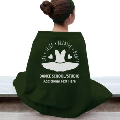 Custom Dance Blanket For Schools