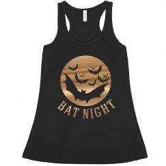Bat night tank top.
