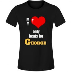 Heart beats for George