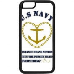 iPhone Navy Design