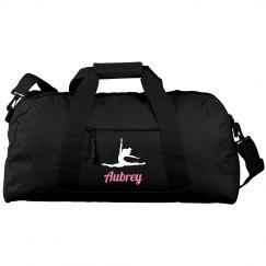 Custom ballet duffel bag