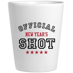 Official New Year's Shot