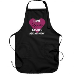 Love Your Lashes Apron