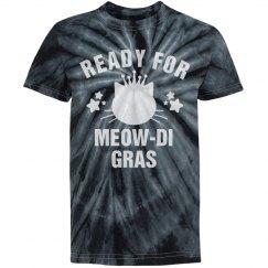 I'm Ready For Meowdi Gras Black