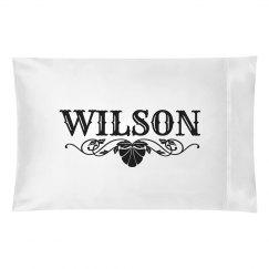 WILSON. Pillow case