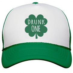 Irish Girl Drunk One Shamrock