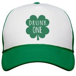 Irish Girl Drunk One Shamrock