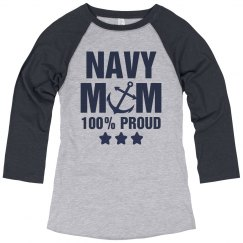 Navy Mom Proud Forever