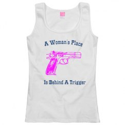 A Woman's Place Behind A Trigger