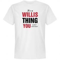 It's a Willis thing