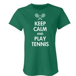 Keep Calm & Play Tennis