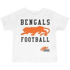 Toddler Bengal Football T
