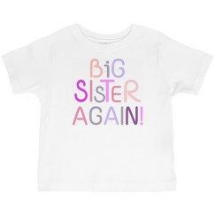 Big Sister Again!