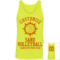 Custom Sand Volleyball