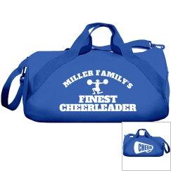 Miller Family Cheerleader