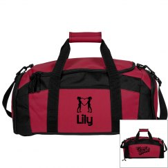 Lily. Cheerleader bag
