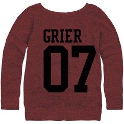 grier 07 sweatshirt