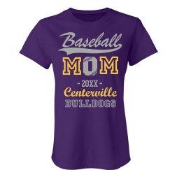 Baseball Mom Custom Year