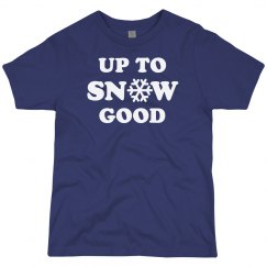Up to Snow Good Youth Tee