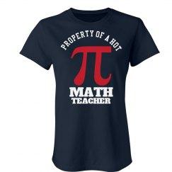 Hot Math Teacher