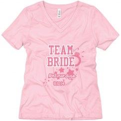 Tead bride entourage
