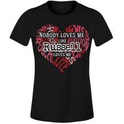 Love me like Russell