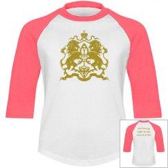 Gold Youth Girls Magic Unicorn Shirt
