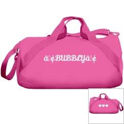 Pink Bubbly Duffel Bag
