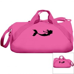 Mermaid gym bag!