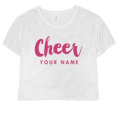 Cheer Crop Top