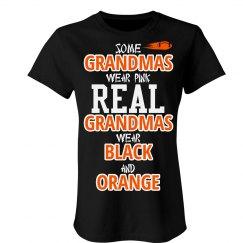Wear black and orange