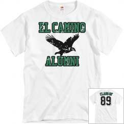 El Camino Alumni - White Distressed