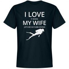 Love wife, love Suba Diving