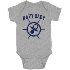 Navy Wheel Baby