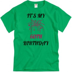 My 60th birthday