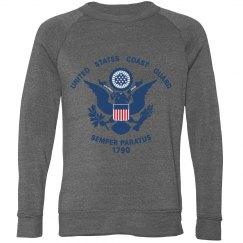 Unisex Coast guard sweatshirt