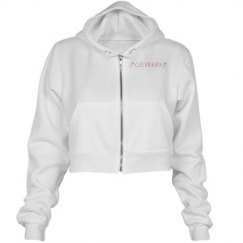 Crybaby Cropped Hoodie