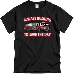 Fire Fighters Know The Rush