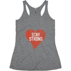 Stay Strong Vtg Heartbrk