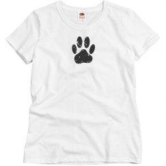 Cute Dog Paw Print