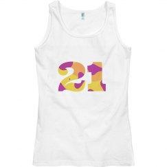 Womens 21 Tee