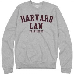 Harvard Law Yeah Right