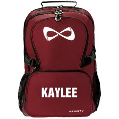 Kaylee personalized cheer bag
