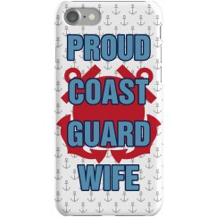 Coast Guard Wife iPhone