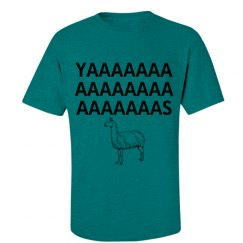 Yas llama shirt