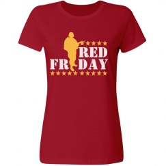 Red Friday Graphic Tee