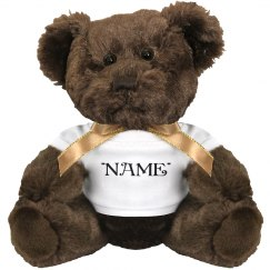 Personalize the bear