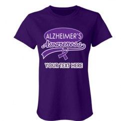 Alzheimers Awareness Ribb