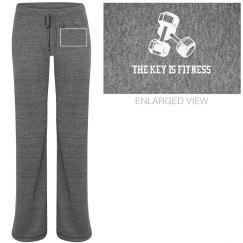 """Basic Grey """"Signature"""" Lounge Pants"""
